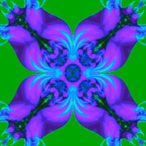 Fractal Irises, Larger