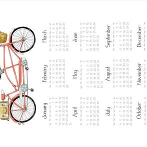 2021 Tandem Calendar - Coral