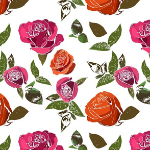 Multicolor Roses - Red variations