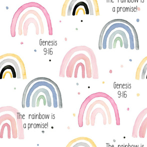 Rainbow is a Promise