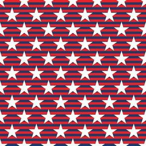 USA Stars 8 inch