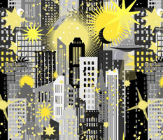 A New Dawn on Earth in Gray + Yellow