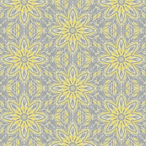 Ultimate Grey and Yellow Hazy Daisy Scatter