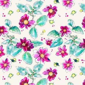Spring Garden- Pink