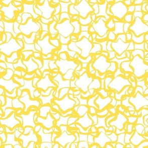Squiggle Ribbons - Yellow on White - © Autumn Musick 2021