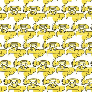 Telephone Tangle - Yellow - © Autumn Musick 2021