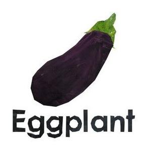 "egg plant  - 6"" panel"