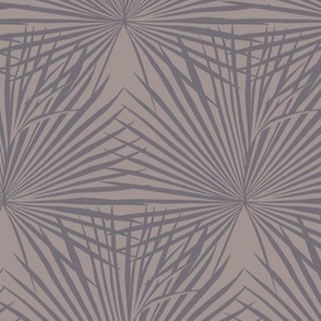 Palm leaves / Warm grey