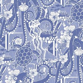 Tropical Hideaway - Lilac