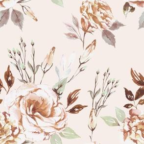 The Calm blush pattern