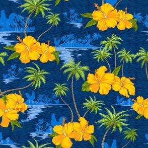 Lumahai Beach Hidden Hawaii Scenic - Classic Blue