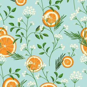 Elderflowers & Oranges
