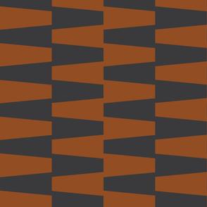 Lahara   Rust + Dark Charcoal
