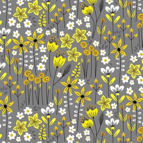 Monica (Yellow and Gray)