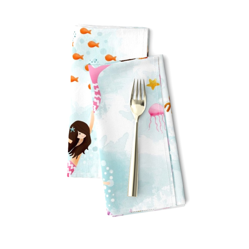 Amarela Dinner Napkins featuring Playing with Bubbles by natitys