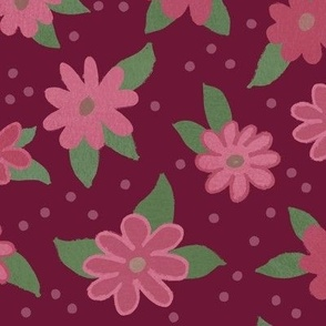 2021 Pastels are Back in Vogue!  Mauve, Coral, Lavender,Mint Green Floral with Butterflies