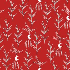 Red Farmhouse Christmas