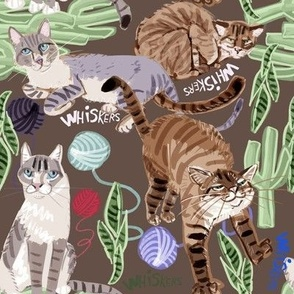 Cats Whiskers and Yarn Chocolate
