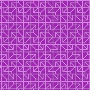 two-tone geometric pattern 2 in purples