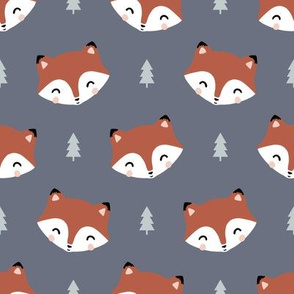 forest fox friends faces
