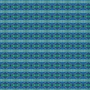 Blue Green Crystalline, Tapestry