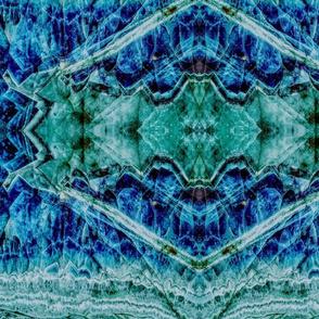 Blue Green Crystalline,Persian