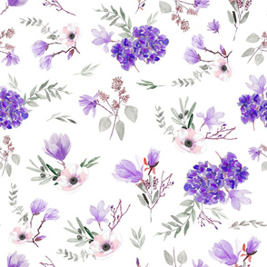 Violet Bouquets
