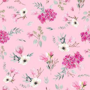 floral bouquets pink
