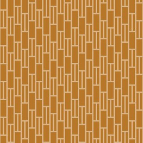 two-tone geometric pattern 1 in coppers