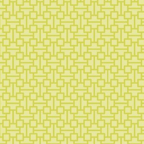 two-tone geometric pattern 3 in lime green