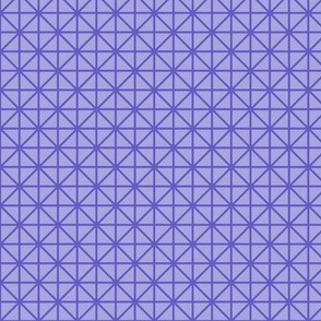 two-tone geometric pattern 7 in violets