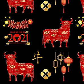 Chinese New Year Ox 2021