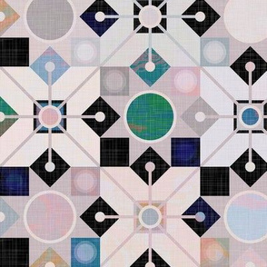 Fairytale Tiles / Small-Scaled Geometry - Large