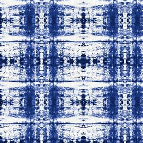 Blue explotion