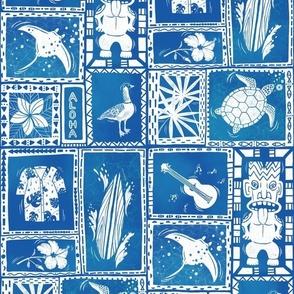 Hawaii Hidden Objects blue
