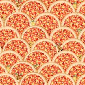 hawaiin pizza hidden elements