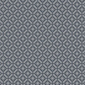 two-tone geometric pattern 12  in grays