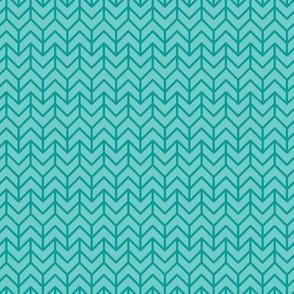 two-tone geometric pattern 13  in teal greens