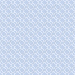 two-tone geometric pattern 14 in blue-gray