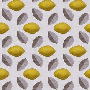 Mod Lemons & Leaves
