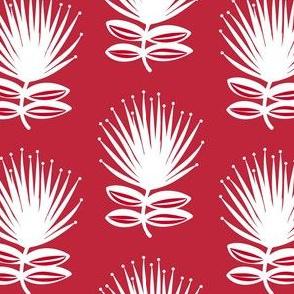 Ohia Flowers - Red