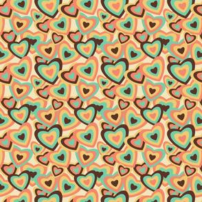 Retro Hearts pop