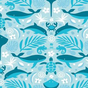 Hidden hawaiian blue