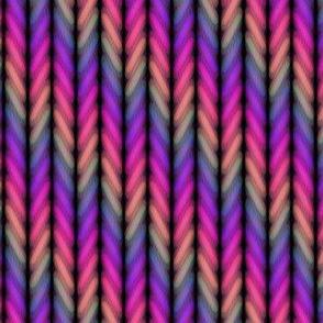 Rainbow Fade Twist//Small Scale