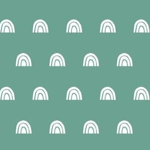 Rainbow Stamp - Green
