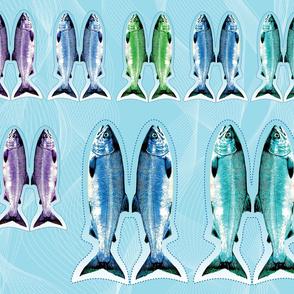 Cut and Sew Salmon Fat Quarter
