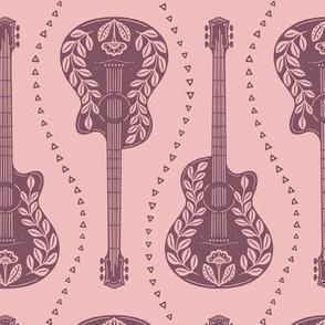 Guitars Pink
