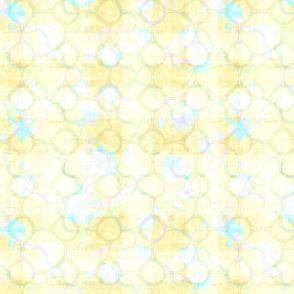 yellow lattice fresco