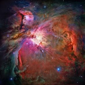 Orion Nebula (Hubble 2006, original colours)
