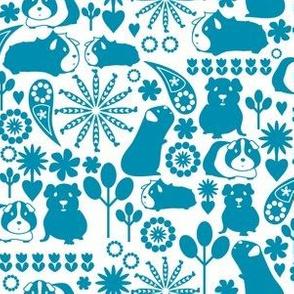 I love blue guinea pigs